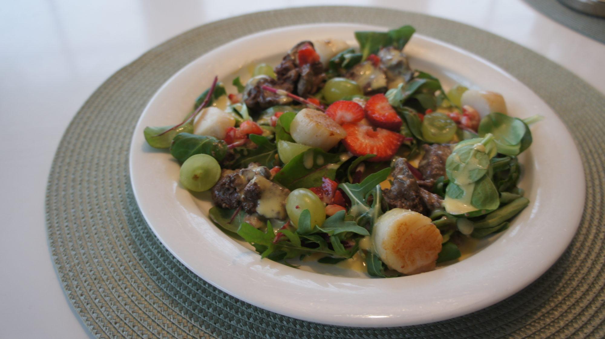 Горячий салат с куриной печенью рецепт пошаговый