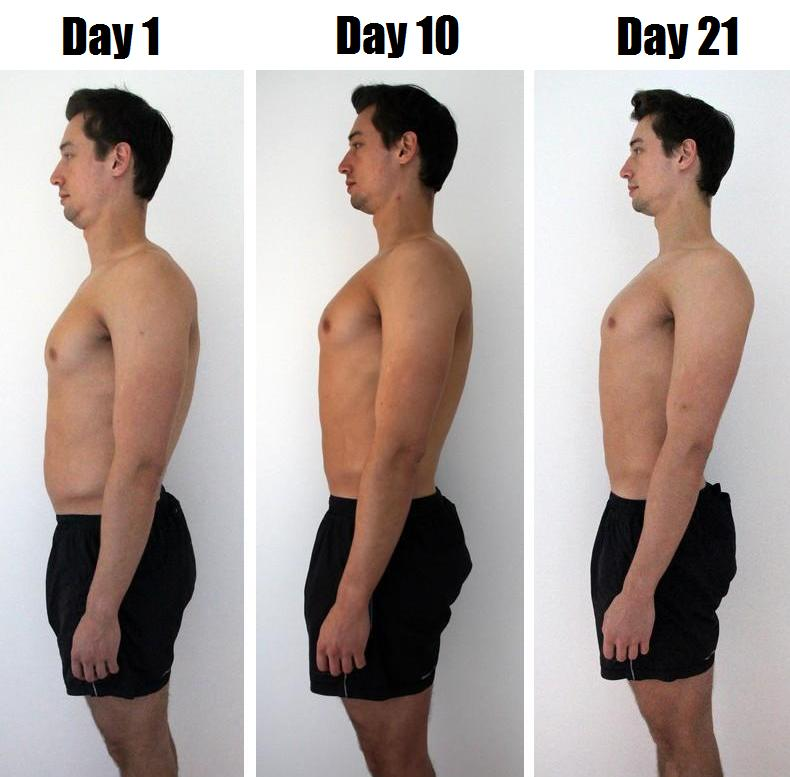 как убрать лишний жир неделю