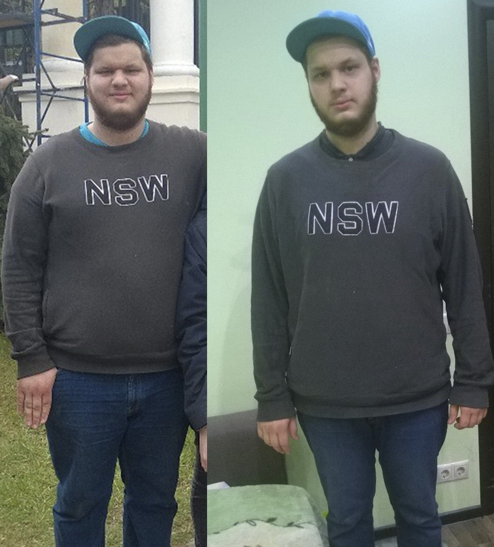 похудеть на 43 кг
