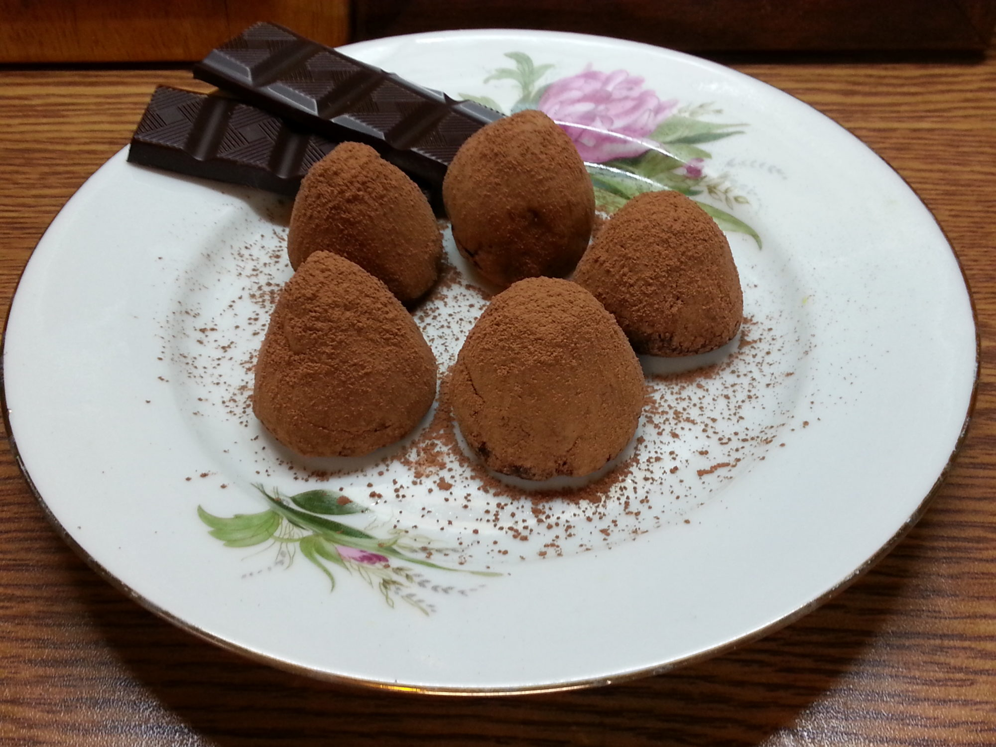 LCHF-конфеты «Трюфель»