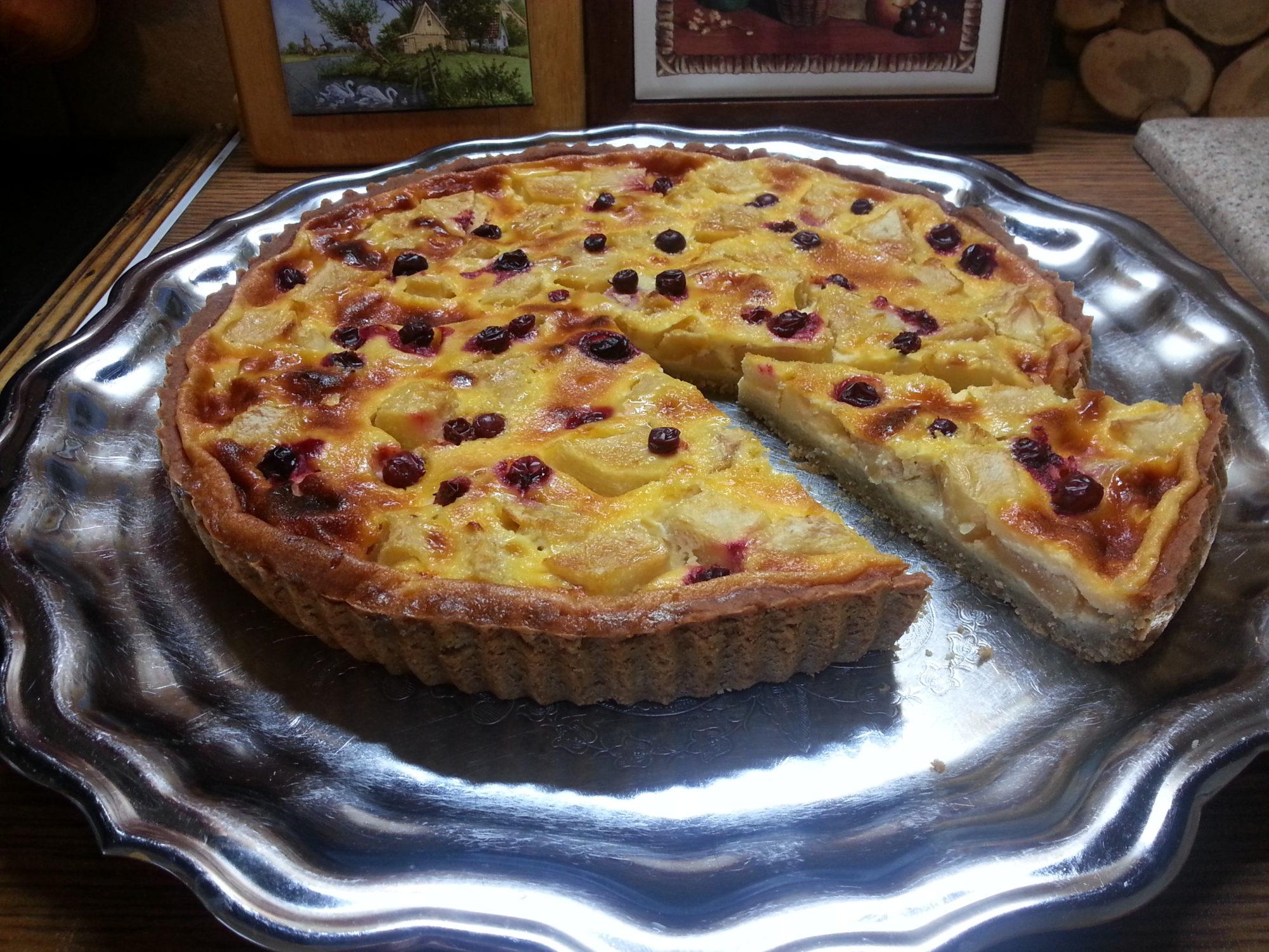 Пирог из сметаны в духовке рецепт пошагово