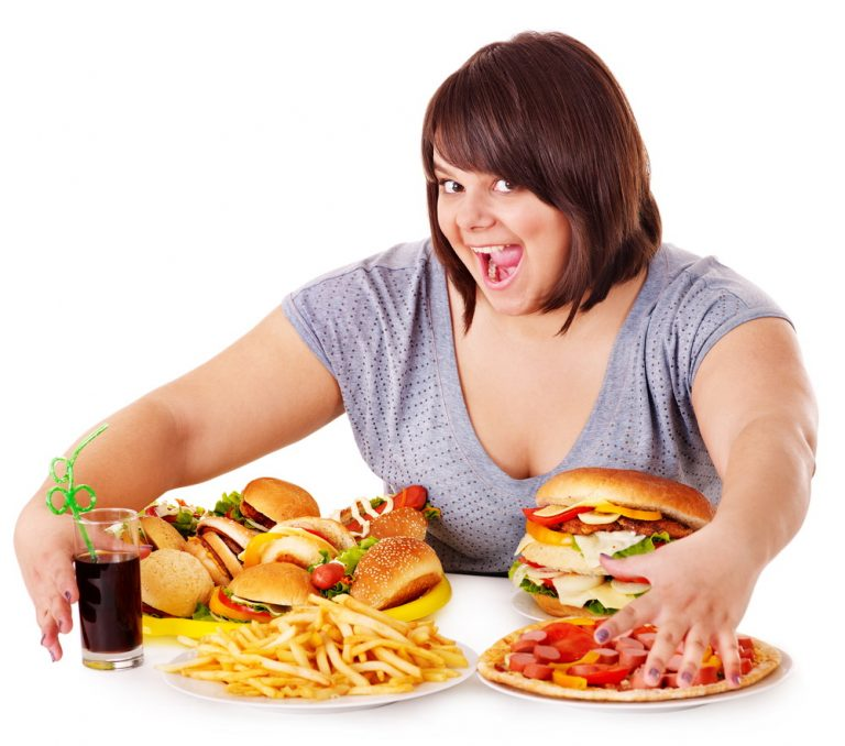 the negative effects of eating junk food regularly