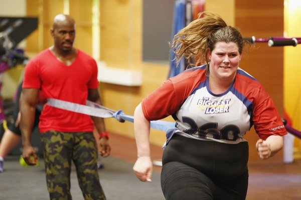 THE BIGGEST LOSER -- Episode 1501 -- Pictured: (l-r) Dolvett Quince, Rachel Frederickson -- (Photo by: Trae Patton/NBC)