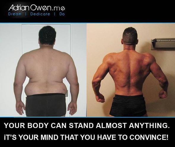 Ваше тело может выдержать почти все. Вам надо лишь убедить ваш разум!