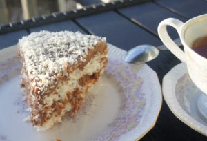 Кокосовый торт «Баунти»