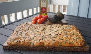 Хлеб с бразильскими орехами