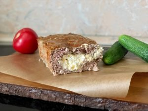 Митлоф с сырной начинкой