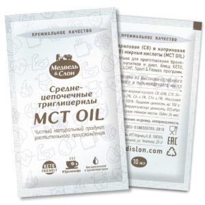 МСТ масло «Медведь и слон» в саше по 10 мл