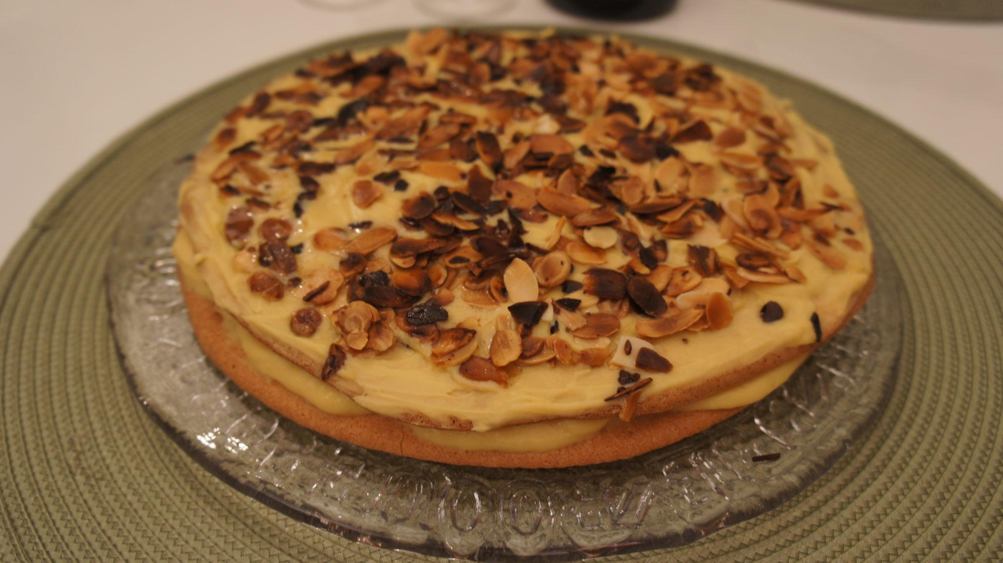 Миндальный торт – или торт Оскара II