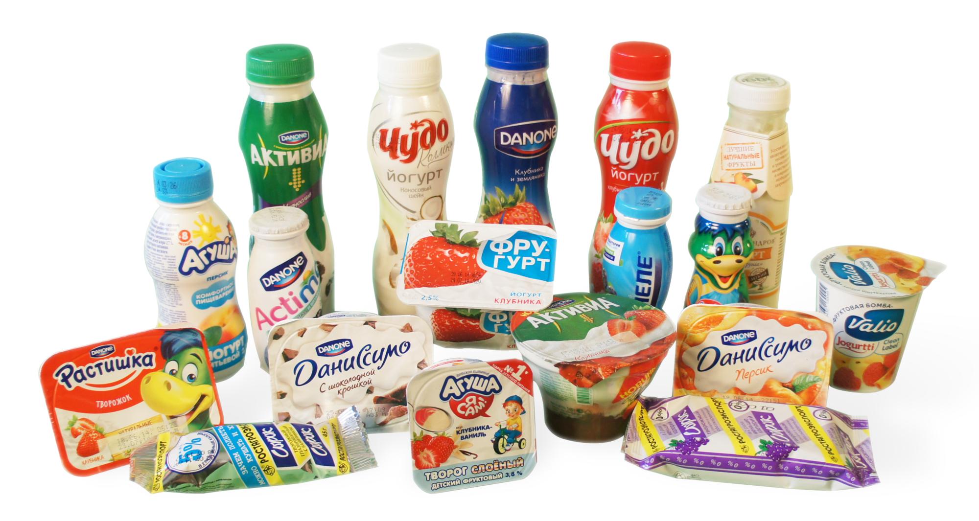 Сколько сахара мы съедаем с йогуртами, сырками и творожками?
