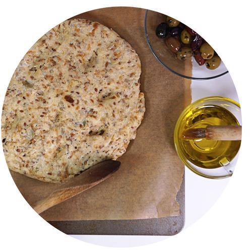 sukrin-bread-mix-focaccia-bake