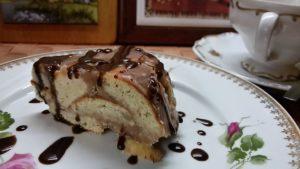 """Торт творожный """"Завалинка""""  с арахисовой помадкой"""