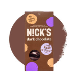 Тёмный шоколад NICK'S со стевией