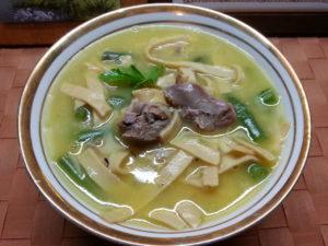 Суп-лапша из рульки