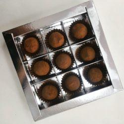 Трюфель из темного шоколада