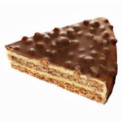 Торт Миндальный LCHF с шоколадным покрытием