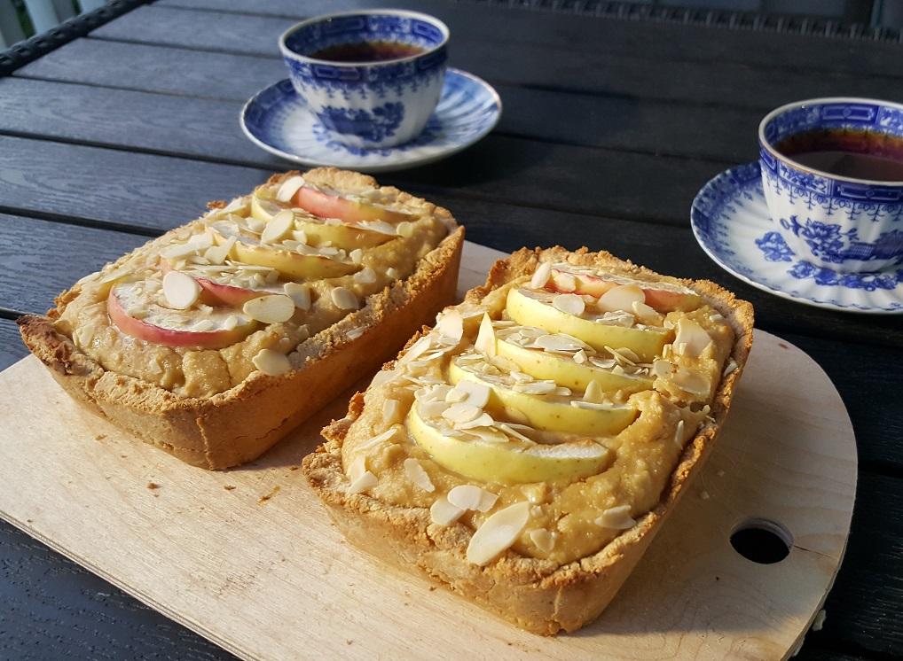 Творожно-яблочные мини-пироги (или маффины)