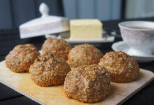Ореховые булочки с сыром