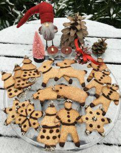 Рождественские LCHF-пряники