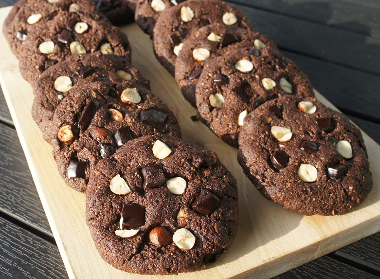 Шоколадно-ореховое печенье
