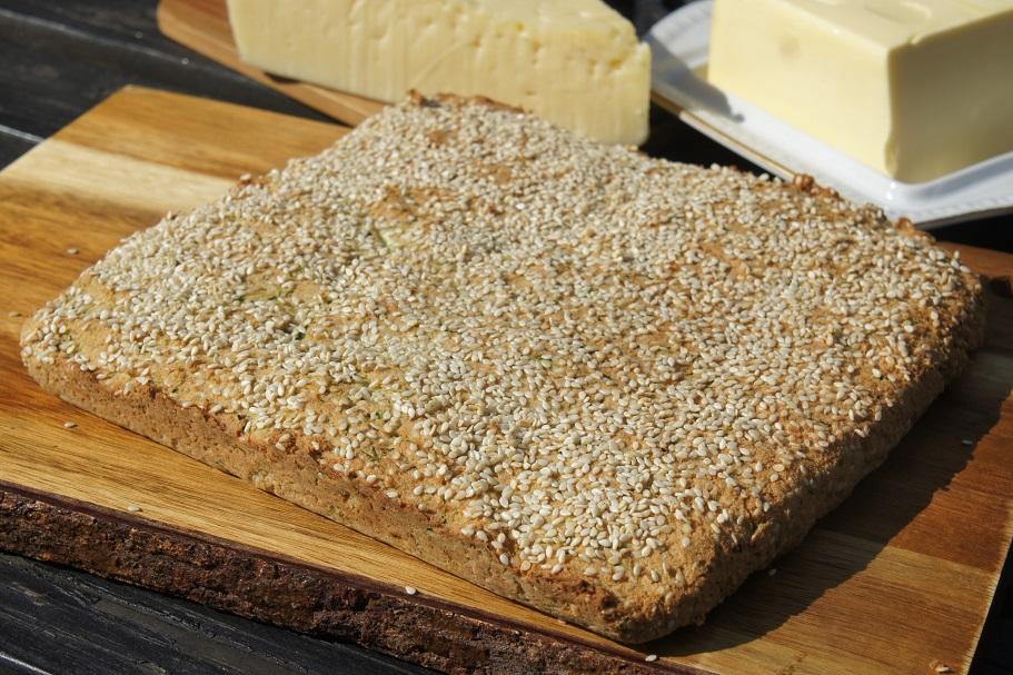 Хлеб с цукини