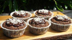 Кокосовые маффины с шоколадом