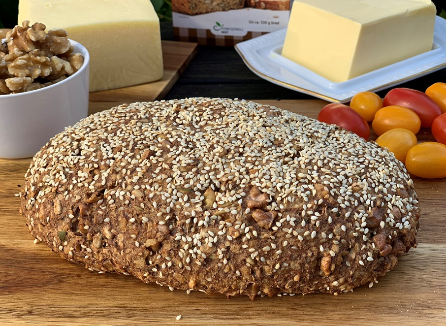 Сырный хлеб из цельнозерновой смеси