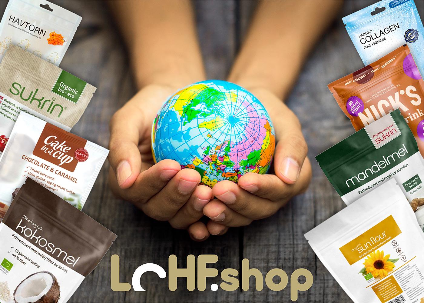 LCHF.SHOP – новый онлайн-магазин с доставкой по всему миру
