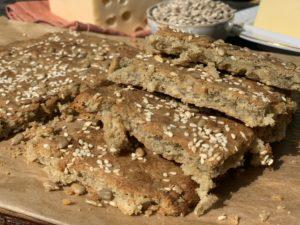 Хлеб из семечковой муки