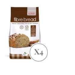 Цельнозерновая смесь для выпечки хлеба 1 кг х 4