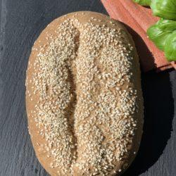 Протеиновый хлеб из миндально-кунжутной муки