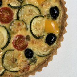 Киш итальянский с овощами
